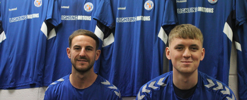 Town make two new signings