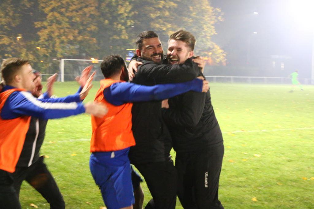 Faultless Town one step closer to Wembley