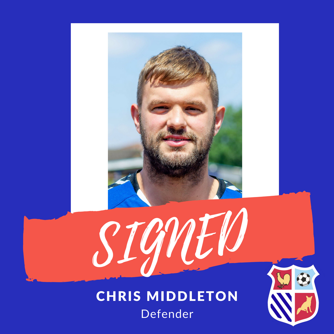 Middleton becomes Town's latest signing