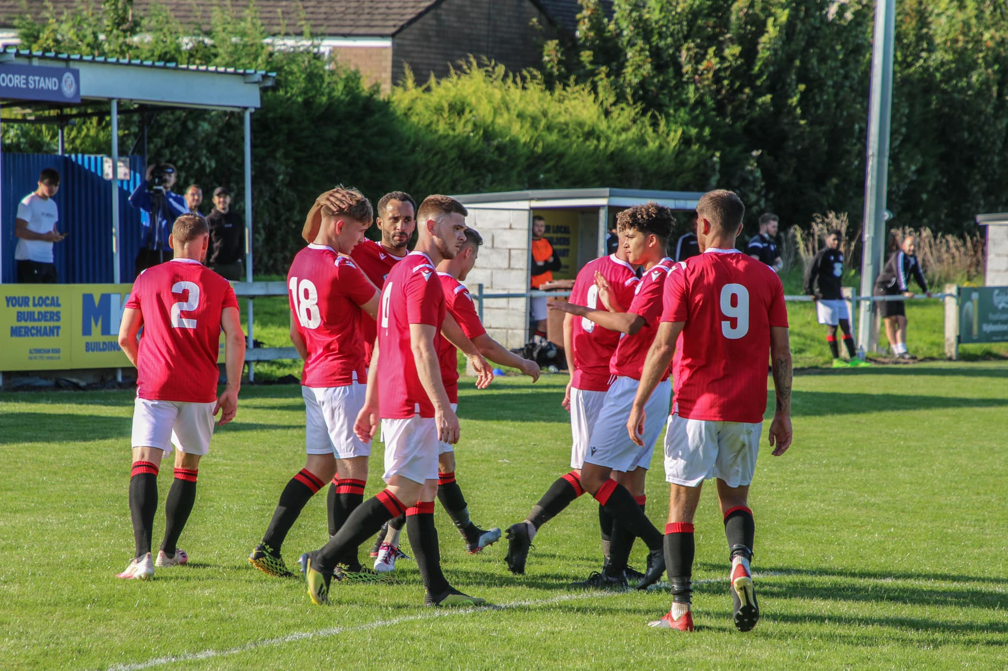 Town take comfortable win
