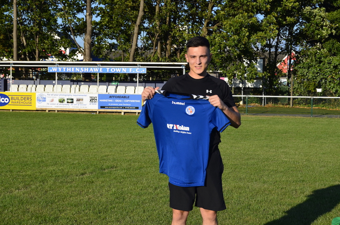 Ben Steer signs for Town